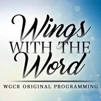 Wings with the word